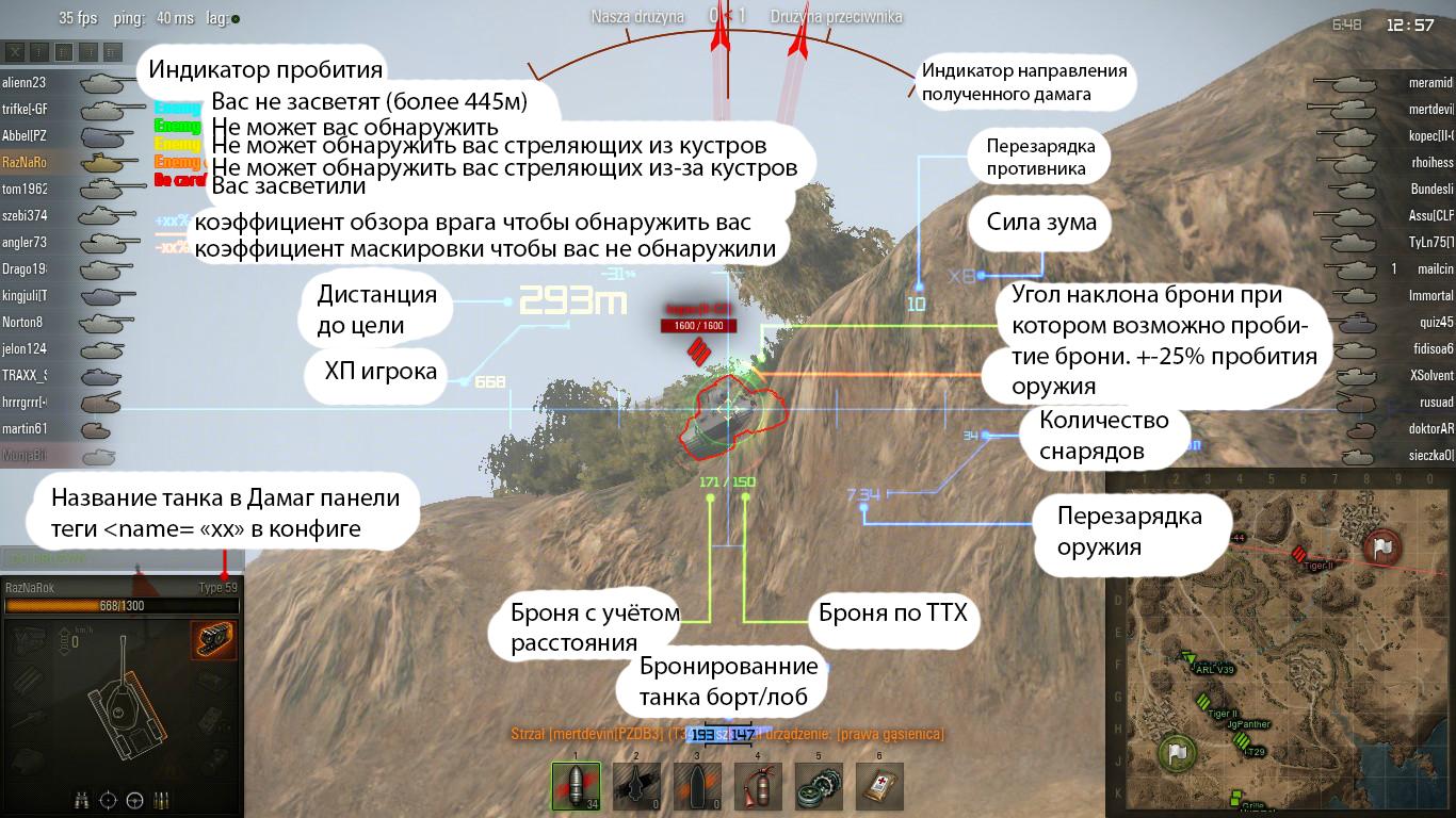world of tanks как пользоваться автоприцелом